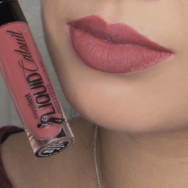 This is the darker of the two reds in the line and seems to be more blue based. Megalast Liquid Catsuit lipstick ...